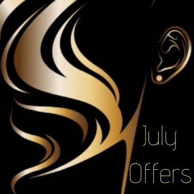 July offers with KG Hair Salon