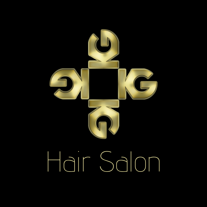 KG Hair Salon Logo