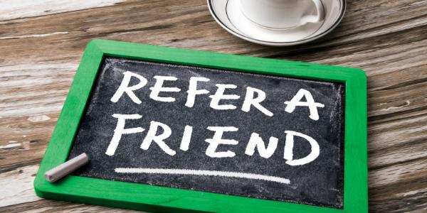 Fall refer a friend